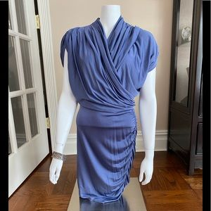 Catherine Malandrino Favorites Blue Dress